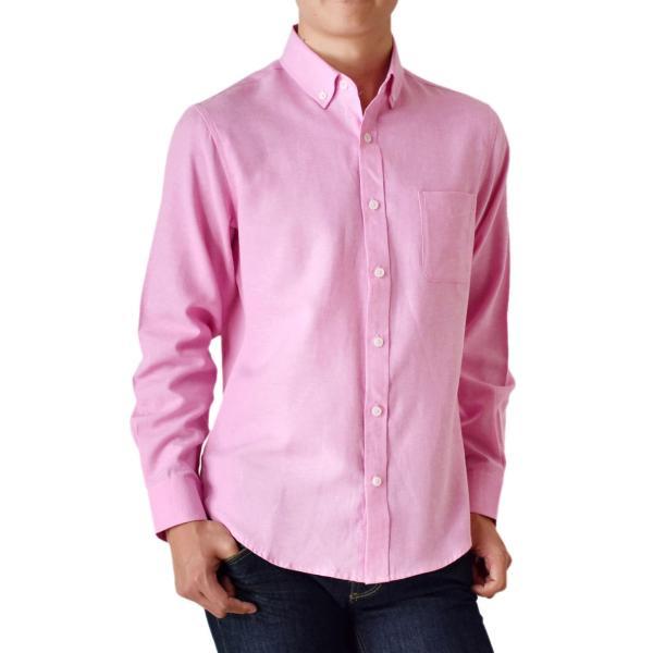 シャツ メンズ オックスフォードシャツ ボタンダウンシャツ 長袖 得トクセール セール 送料無料 通販M《M1.5》|aronacasual|24