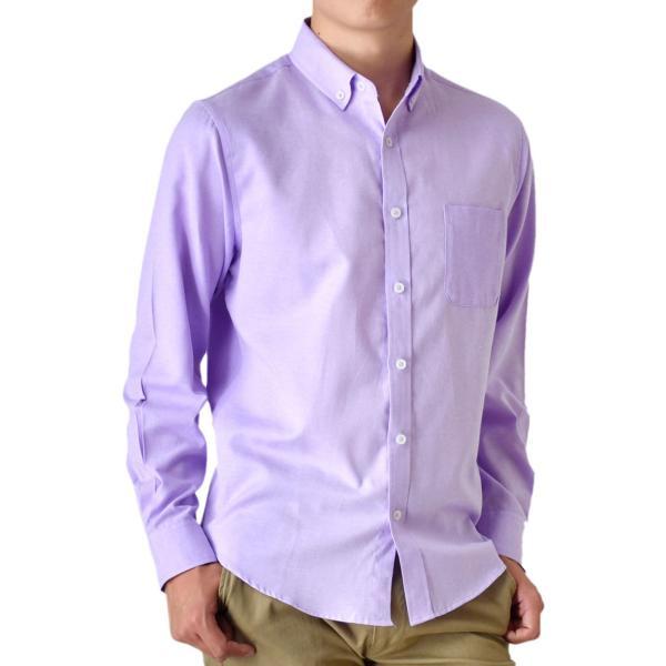 シャツ メンズ オックスフォードシャツ ボタンダウンシャツ 長袖 得トクセール セール 送料無料 通販M《M1.5》|aronacasual|29
