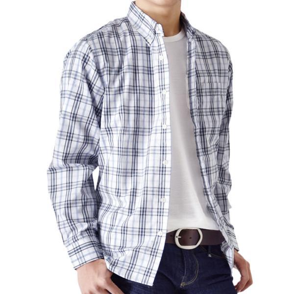 シャツ メンズ チェック柄 長袖 シャツ セール 送料無料 通販M《M1.5》|aronacasual|22
