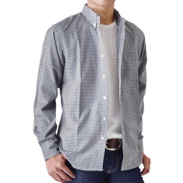 シャツ メンズ チェック柄 長袖 シャツ セール 送料無料 通販M《M1.5》|aronacasual|24