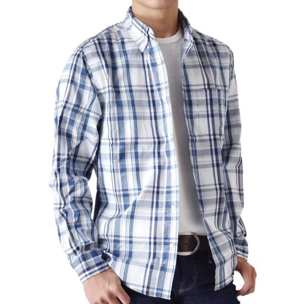 シャツ メンズ チェック柄 長袖 シャツ セール 送料無料 通販M《M1.5》|aronacasual|31