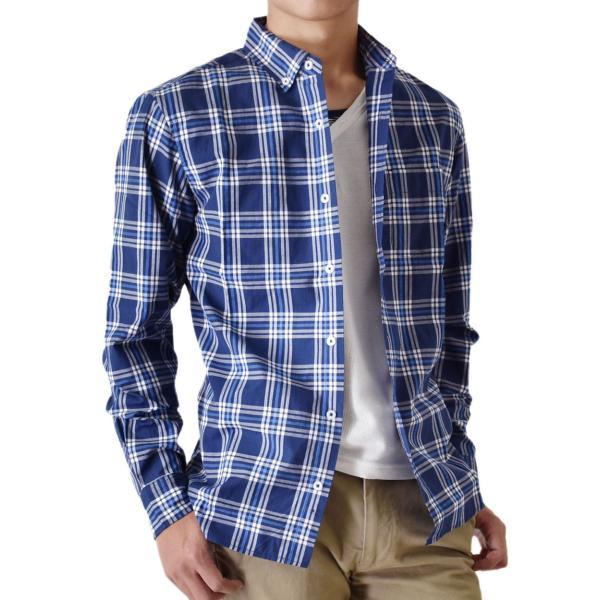 シャツ メンズ チェック柄 長袖 シャツ セール 送料無料 通販M《M1.5》|aronacasual|33