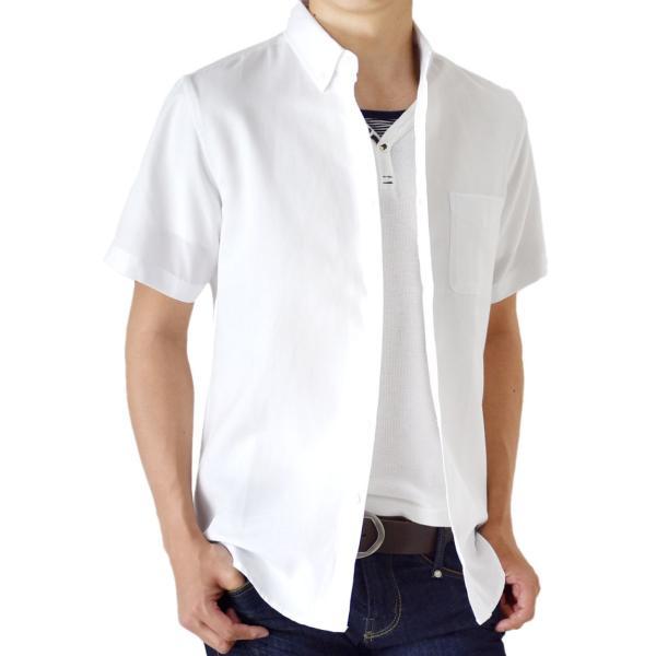 シャツ メンズ オックスフォードシャツ ボタンダウンシャツ カジュアル 半袖 送料無料 通販M《M1.5》|aronacasual|20