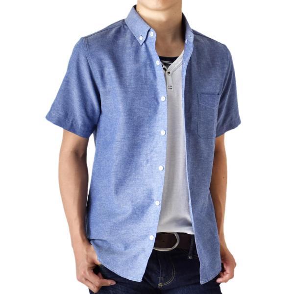 シャツ メンズ オックスフォードシャツ ボタンダウンシャツ カジュアル 半袖 送料無料 通販M《M1.5》|aronacasual|26
