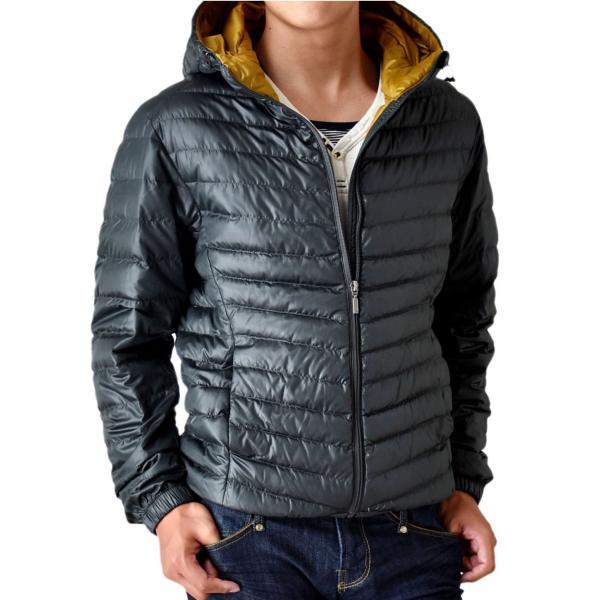 超軽量ダウンジャケット 驚くほど軽くて暖か パーカー 冬 防寒 ブルゾン 中綿コート メンズ 高級羽毛 通販 送料無料|aronacasual|17