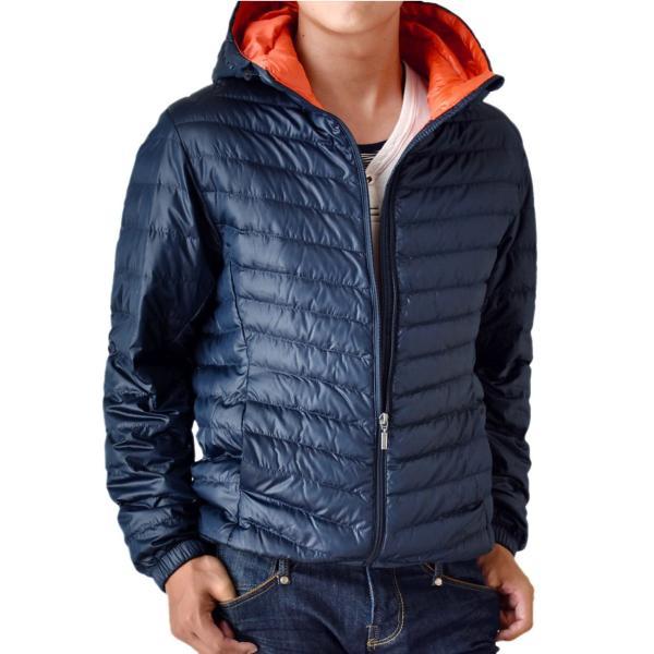 超軽量ダウンジャケット 驚くほど軽くて暖か パーカー 冬 防寒 ブルゾン 中綿コート メンズ 高級羽毛 通販 送料無料|aronacasual|16