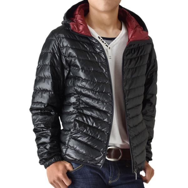 超軽量ダウンジャケット 驚くほど軽くて暖か パーカー 冬 防寒 ブルゾン 中綿コート メンズ 高級羽毛 通販 送料無料|aronacasual|18