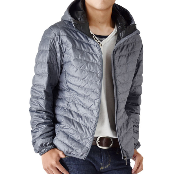 超軽量ダウンジャケット 驚くほど軽くて暖か パーカー 冬 防寒 ブルゾン 中綿コート メンズ 高級羽毛 通販 送料無料|aronacasual|20