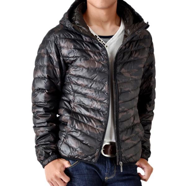 超軽量ダウンジャケット 驚くほど軽くて暖か パーカー 冬 防寒 ブルゾン 中綿コート メンズ 高級羽毛 通販 送料無料|aronacasual|21