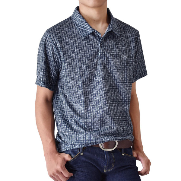 DRYストレッチ 吸汗速乾 ポロシャツ メンズ 送料無料 通販M《M1.5》|aronacasual|25