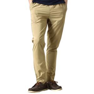 接触冷感 速乾 撥水 ストレッチパンツ チノパン メンズ パンツ ゴルフ ゴルフウェア ゴルフパンツ 夏 イージーパンツ UVカット 送料無料 通販Y|アローナ