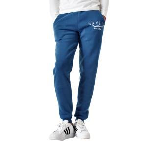 スウェットパンツ メンズ パンツ ストレッチパンツ 裏起毛 暖かい イージーパンツ ストレッチ 防寒 スエットパンツ プリント 無地 送料無料 通販YC|アローナ