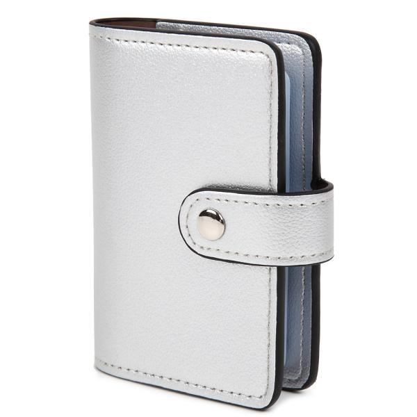 カードケース カード入れ 大容量 レディース 薄型 スリム 磁気防止 レザー 全12色22枚収納 男女兼用 持ち運びに便利 ギフト プレゼント arsion 13