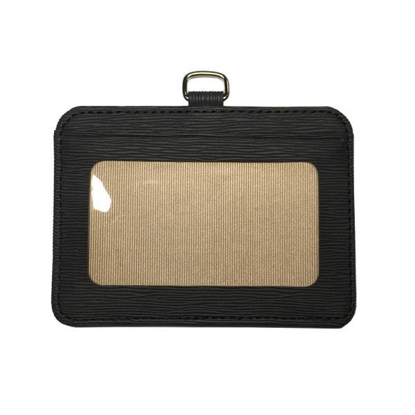 ネックストラップ付き 横型IDカードホルダー カードケース パスケース 定期入れ 社員証 ケース  メンズ レディース|arsion|08