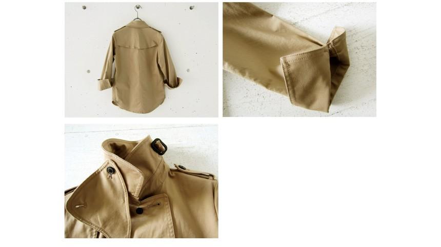 ハート(Hart)定番 毎回大人気の トレンチタイプのシャツジャケット!