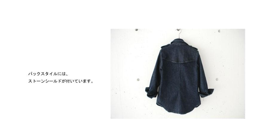 HARTの定番トレンチジャケットから デニムトレンチ 限定販売決定