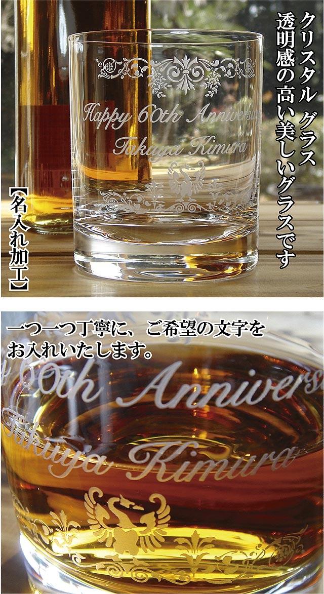 クリスタル記念グラス