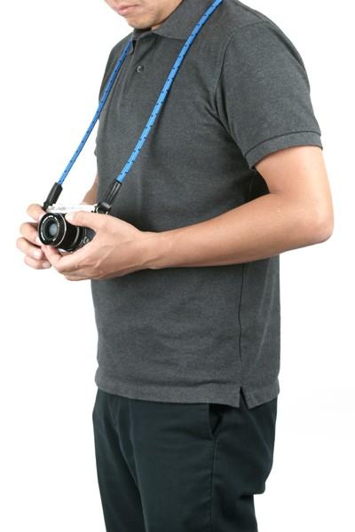 カメラストラップ<ピンドットコードストラップ>