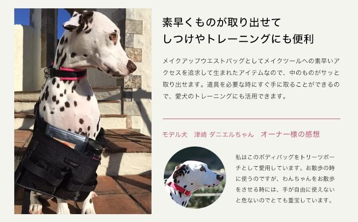ウエストバッグで愛犬とおでかけしよう