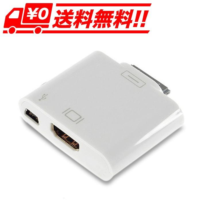 iPad・iPhone用HDMI変換アダプタ