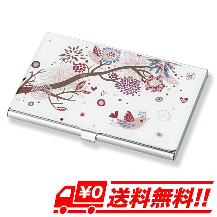 花柄アルミ カードケース