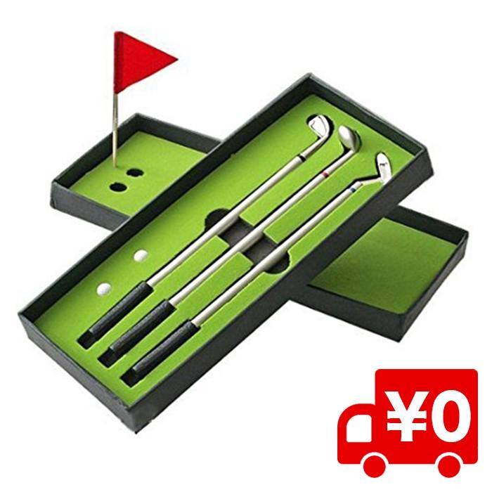 ゴルフクラブ ボールペン セット