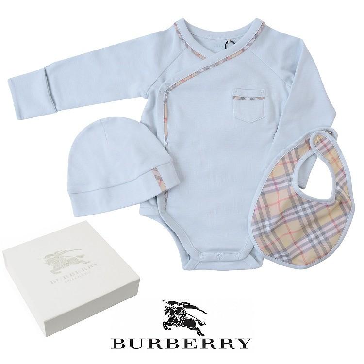 dc92695617d5b バーバリー ベビー服 赤ちゃん BURBERRY 帽子 ロンパース よだれかけ ...