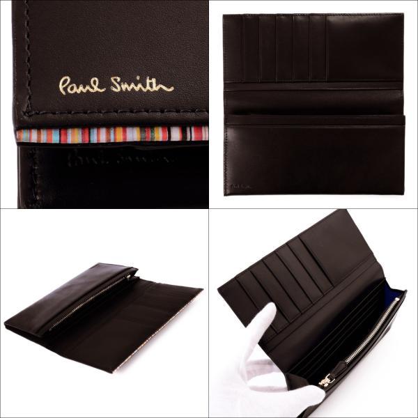 ポールスミス 財布 メンズ 二つ折り 長財布 Paul Smith PSC756 P756 マルチカラー ストライプポイント 新作|aruarumarket|10