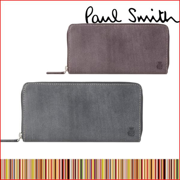240236f58ded ポールスミス 財布 メンズ 長財布 ラウンドファスナー Paul Smith 554839 ...