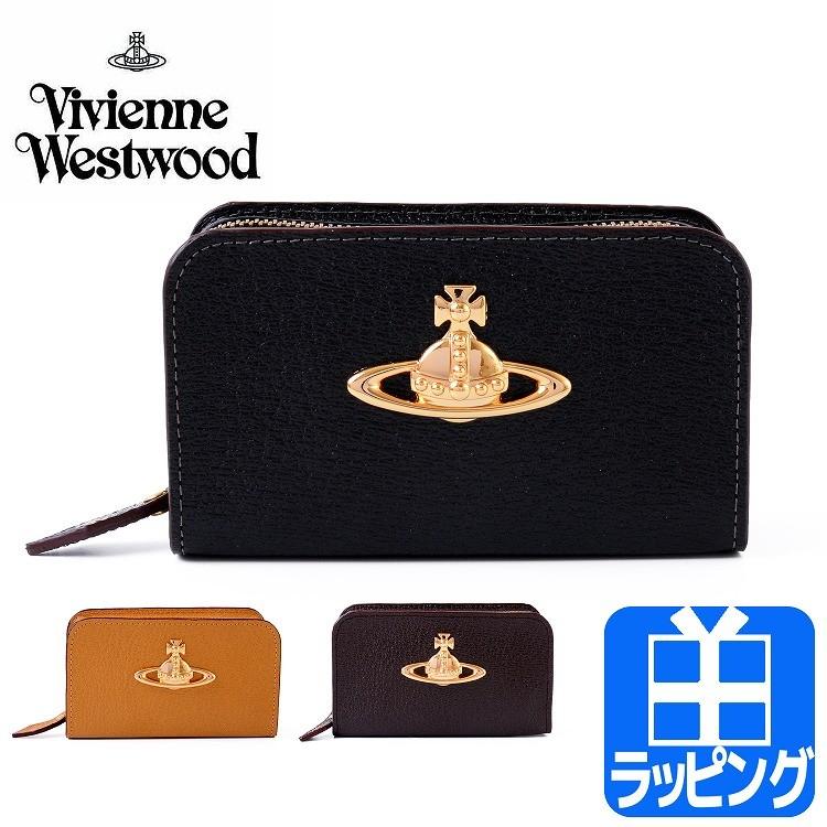 ef087f63bfa2 Vivienne Westwood ヴィヴィアン ウエストウッド EXECUTIVE ラウンドファスナーマルチケース