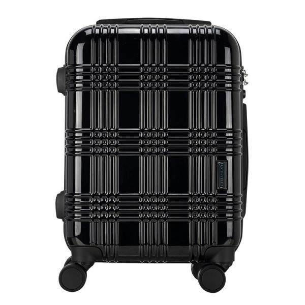 スーツケース 機内持ち込み Sサイズ ストッパー付 日本社製 HINOMOTO ダブルキャスター キャリーバッグ ポリカーボネート TSAロック 8輪 1泊〜3泊用 35L|arudake|15