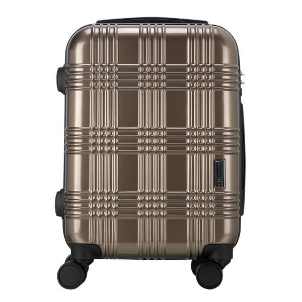 スーツケース 機内持ち込み Sサイズ ストッパー付 日本社製 HINOMOTO ダブルキャスター キャリーバッグ ポリカーボネート TSAロック 8輪 1泊〜3泊用 35L|arudake|16