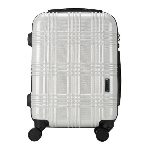 スーツケース 機内持ち込み Sサイズ ストッパー付 日本社製 HINOMOTO ダブルキャスター キャリーバッグ ポリカーボネート TSAロック 8輪 1泊〜3泊用 35L|arudake|14