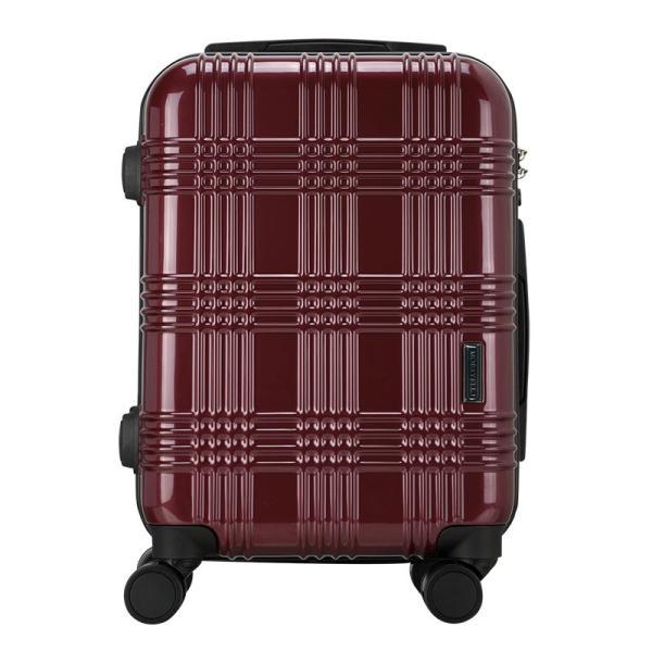 265cffcbf2 ... スーツケース 機内持ち込み Sサイズ ストッパー付 日本社製 HINOMOTO ダブルキャスター キャリーバッグ