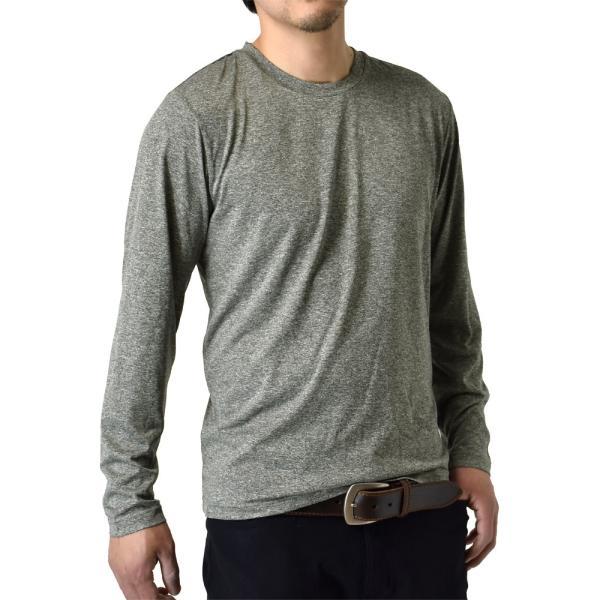 ロングTシャツ 吸汗速乾 ドライ UVカット ゴルフウェア 長袖Tシャツ 脇汗対策 ロンT 夏用 ラッシュガード 日よけ Tシャツ 水陸両用 メンズ セール|aruge|24