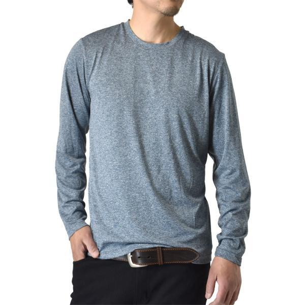 ロングTシャツ 吸汗速乾 ドライ UVカット ゴルフウェア 長袖Tシャツ 脇汗対策 ロンT 夏用 ラッシュガード 日よけ Tシャツ 水陸両用 メンズ セール|aruge|26
