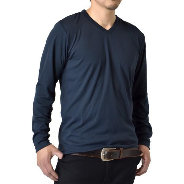 ロングTシャツ 吸汗速乾 ドライ UVカット ゴルフウェア 長袖Tシャツ 脇汗対策 ロンT 夏用 ラッシュガード 日よけ Tシャツ 水陸両用 メンズ セール|aruge|30