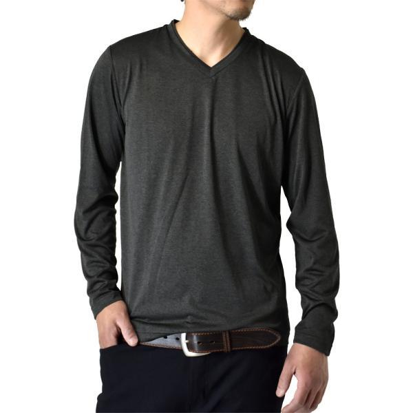 ロングTシャツ 吸汗速乾 ドライ UVカット ゴルフウェア 長袖Tシャツ 脇汗対策 ロンT 夏用 ラッシュガード 日よけ Tシャツ 水陸両用 メンズ セール|aruge|31