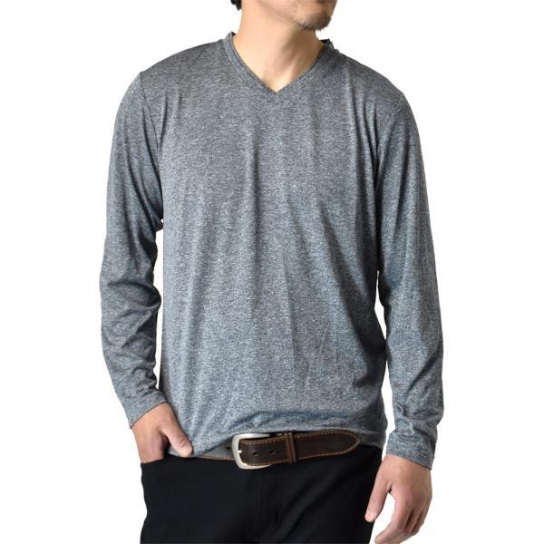 ロングTシャツ 吸汗速乾 ドライ UVカット ゴルフウェア 長袖Tシャツ 脇汗対策 ロンT 夏用 ラッシュガード 日よけ Tシャツ 水陸両用 メンズ セール|aruge|33