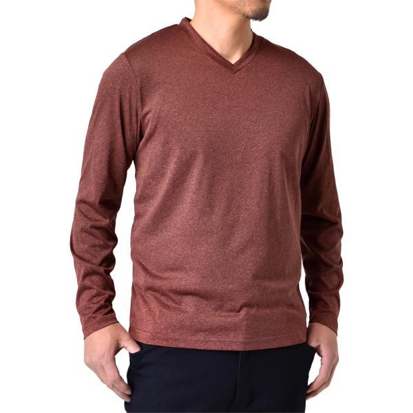 ロングTシャツ 吸汗速乾 ドライ UVカット ゴルフウェア 長袖Tシャツ 脇汗対策 ロンT 夏用 ラッシュガード 日よけ Tシャツ 水陸両用 メンズ セール|aruge|36