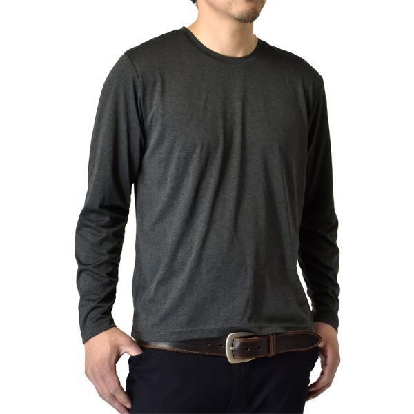 ロングTシャツ 吸汗速乾 ドライ UVカット ゴルフウェア 長袖Tシャツ 脇汗対策 ロンT 夏用 ラッシュガード 日よけ Tシャツ 水陸両用 メンズ セール|aruge|23