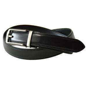オートロックベルト メンズ 牛革 本革 レザー ビジネスベルト 幅3cm 黒 ブラック ブラウン セール mens アルージェ