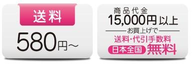 送料580円