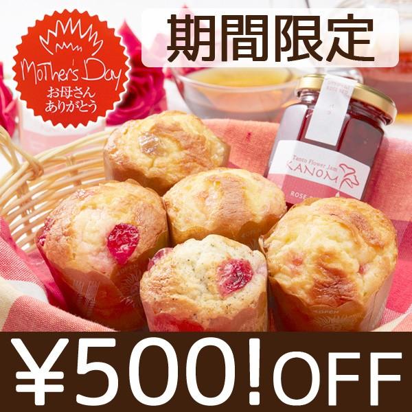【母の日ギフト】500円OFF!クーポン (^^♪