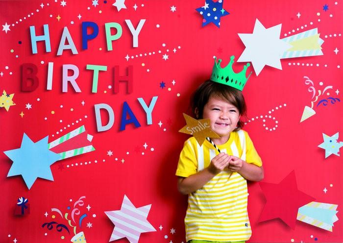 イエスタ Happy Birthday ポップスター レッドの画像0