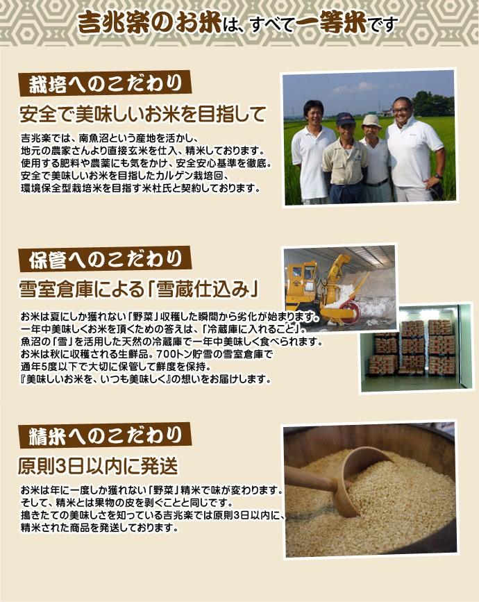 新潟県南魚沼産こしひかり