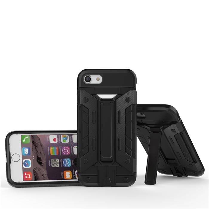 6733563ccd 三重構造iPhone7 iphone7plus ケースハイブリッド耐衝撃TPU頑丈ケース ...