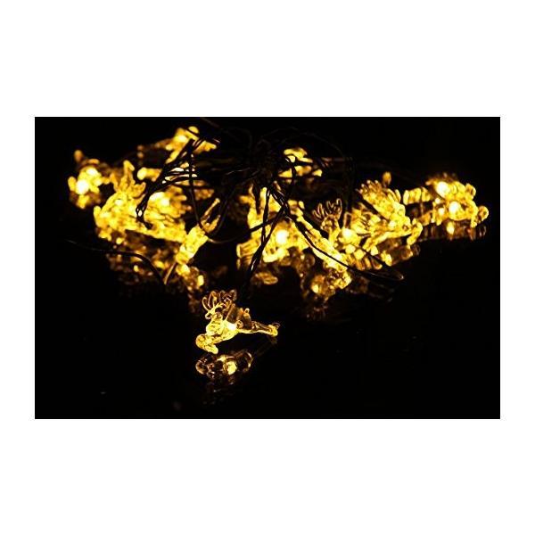 イルミネーション LED 屋外 ソーラー クリスマス ハロウィン LEDライト|arvasshop|07