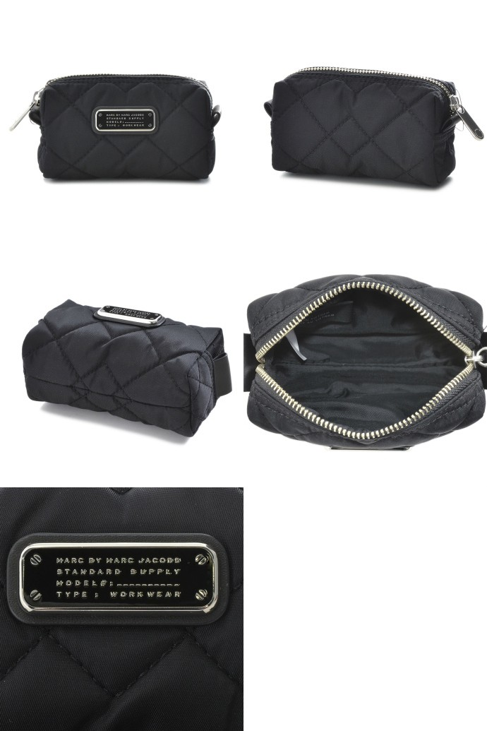 MARC BY MARC JACOBS/マークバイマークジェイコブス  SMALL COSMETIC ポーチ M0005471 0007 001