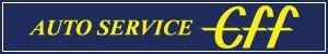 アメリカ雑貨オートサービスエフ ロゴ